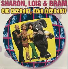 One Elephant, Deux Éléphants by Sharon Lois & Bram  (CD) W or W/O CASE EXPEDITED