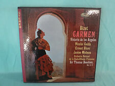 Sir Thomas Beecham, Bizet: Carmen, Capitol SGCR 7207, 1960, 3 LP Box with Book
