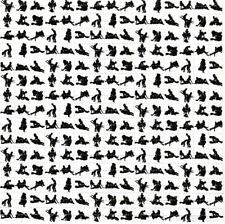 KAMA SUTRA BLOTTER ART perforated sheet paper psychedelic art