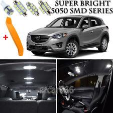 9 x Xenon White Interior LED Lights Kit + TOOL For 2013 - 2016 Mazda CX-5 CX5