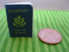 Mini Paper Barbie Travel Passport-Train/Plane/Car-Diane Von Furstenburg Diorama