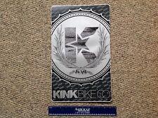 Kink Bike Co. Bmx bicycle vinyl ramp decal sticker