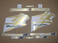 Hayabusa 1340 K8 decals stickers graphics kit set brushed gold adhesives labels