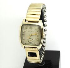 Vintage 1930's BULOVA 10AN 10K GOLD FILLED Case Swiss Winding Watch 15 Jewels