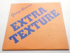 GEORGE HARRISON ORIGINAL  1975 UK LP   EXTRA TEXTURE