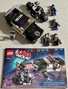 The LEGO Movie 70819 TLM Bad Cop Car Chase 292pc 2015 Complete Retired HTF