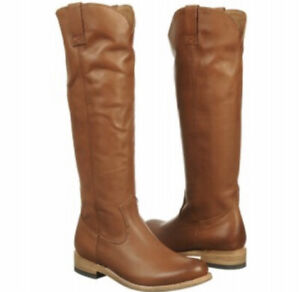 Dolce Vita lujan Leather riding Knee High Boots Womens 6 shoes anthropologie
