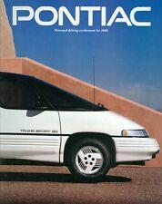 1990 Pontiac Sales Brochure Grand Prix/Sunbird/Firebird/Grand Am/6000/Bonneville