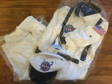 NASA Space Suit Costume Size 6/8 Get Real Gear-costume and hat-NWT