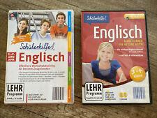 CD-Set Schülerhilfe Englisch 3-4 Klasse und Schülerhilfe 1.+2. Lernjahr CD-ROM
