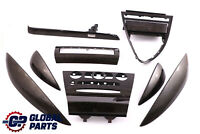 BMW 6 Series E63 E64 Strip Dash Trim Set Cover High Grade Wood Birke Grau Grey
