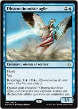 MTG Magic HOU - Nimble Obstructionist/Obstructionniste agile, French/VF