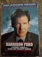 The Hunt For Red October, Patriot Games, Clear and Present Danger 3 DVD Disc Set