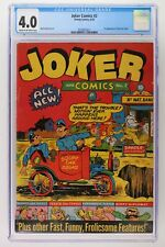 Joker Comics #2 - Timely 1942 - CGC 4.0 - 1st App of Tessie the Typist!