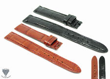18mm x 14mm Real Alligator Crocodile Handmade Straps For Patek Philippe Watches