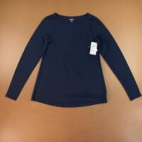 Old Navy Women's Size Medium UltraLite Boat-Neck Long-Sleeve Performance Top NWT