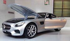 Mercedes AMG GT C190 2015 Rouge Modèle de Voiture 1 24 Maisto