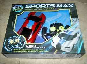 Sports Max Remote Control Toy Car 1:24 Scale New & Unused Boxed