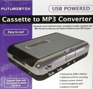 Futuristix USB Powered Cassette to MP3 Digital Music Convertor