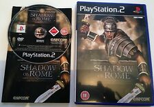 SHADOW OF ROME GAME - PS2 - PLAYSTATION 2 - CON MANUAL