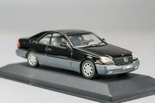 MERCEDES-BENZ 600 SEC V12 1996-1998 Black MINICHAMPS 1:43