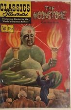 CLASSICS ILLUSTRATED #30 The Moonstone by William Wilkie Collins (HRN 155) VG+