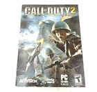 Call Of Duty 2 Computer Video Game Windows Xp/2000 Pc Cd-rom Instructions & Case