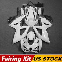 Fairing Kit For Suzuki GSXR600 GSX-R 750 2008-2010 09 K8 Unpainted ABS Injection