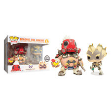 Funko Pop Overwatch Roadhog & Junkrat 2 Pack Box Blizzard Exclusive SDCC 2018
