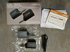 Boss® WL-20L Guitar Wireless Guitar System for Acoustic-Electric Instruments