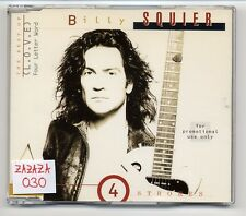 Billy Squier Maxi-CD (L.O.V.E.) Four Letter Word - 4-track promo CD - 519 459