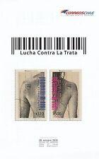 Chile 2015 America UPAEP Human Trafficking - no stamps