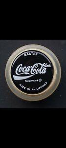 ⚫GENUINE 1989 UK BLACK COCA-COLA MASTER YOYOS⚫COLLECTORS BLACK COKE YO-YO⚫🕶👍🏻