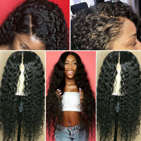 Pre Plucked 100% Human Hair Wigs Brazilian Remy Hair Full Lace Front Wig Curly A