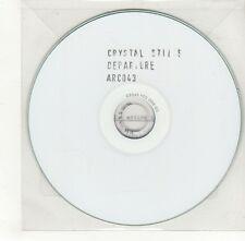 (GO363) Crystal Stilts, Departure - DJ CD