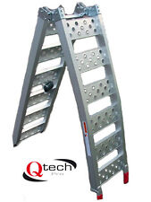 Bike RAMP Folding Motorcycle Motorbike ATV ALUMINIUM Loading Motocross By Qtech