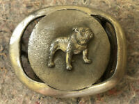 Belt Buckle Hip Flask Bulldog Gs 9
