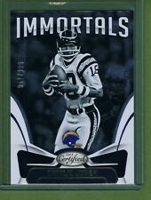 2018 Panini Certified Immortals Charlie Joiner #113 San Diego Chargers #d /999
