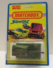 Vintage Matchbox Superfast No. 70 Self Propelled Gun