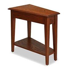 Leick Furniture 9035-MED Recliner Wedge End Table-Medium Oak