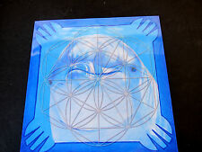 DOLPHIN Totem Spirit Animal Stone Grid Layout Cardstock 8x8in Inner Strength