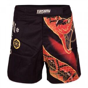 Tatami Duelling Snakes BJJ Shorts Adult MMA Fight Shorts No Gi Grappling shorts