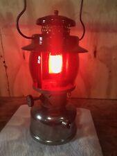 Coleman 237 Lantern Red Jaffe Globe Vintage Lantern Kerosene Ruby Red Globe