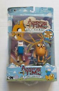 RARE Adventure Time Comic Book Pack Issue # 1 Finn and Jake Figure