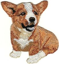 "4"" Pembroke Welsh Corgi Dog Breed Embroidery Patch"