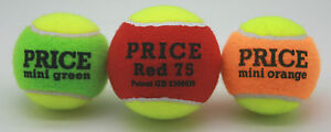 Price's Mini Tennis Training Balls For Children and Beginners (1 Ball)