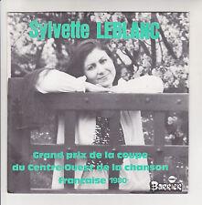 Sylvette LEBLANC Vinyle 45T LE PETIT GRAIN - LE PARAPLUIE POETE 810513 Dédicace