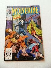 Wolverine 4 . Marvel . 1989 -    VF - minus