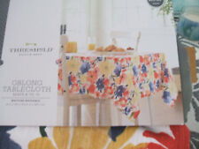 beautiful  floral  fabric  tablecloth  perfect  for  Easter
