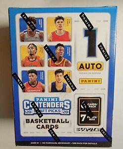 2020-21 Panini Contenders Draft Picks Basketball Sealed Blaster Box